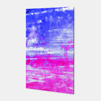 psychedelic sky clouds pattern wsdb Canvas miniature