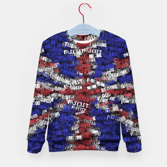 God Save the Queen! Kid's sweater miniature