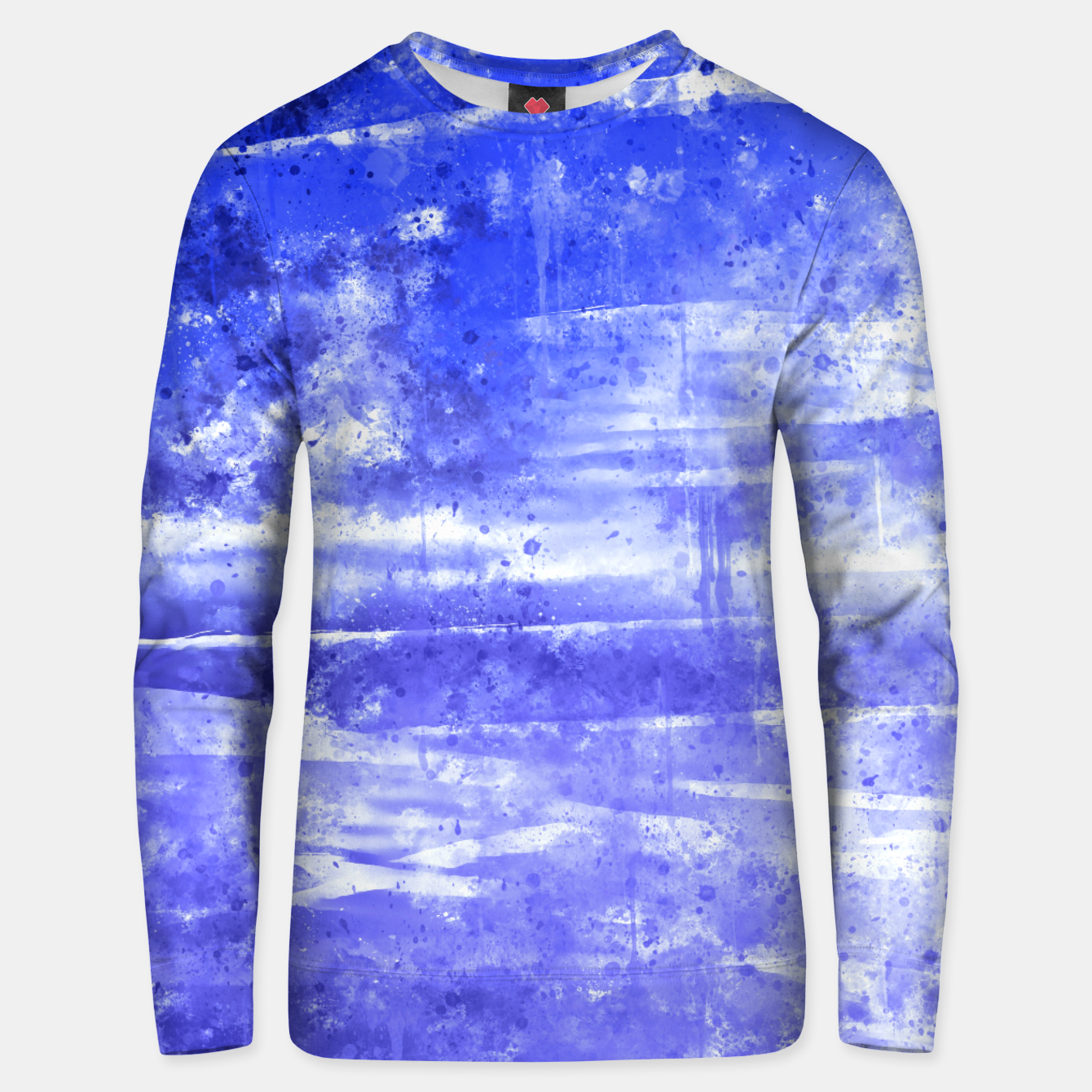 Image de psychedelic sky clouds pattern wsdbb Unisex sweater - Live Heroes