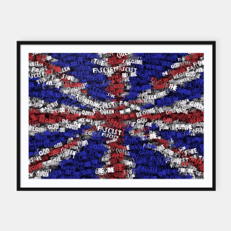 Miniatur God Save the Queen! Framed poster, Live Heroes