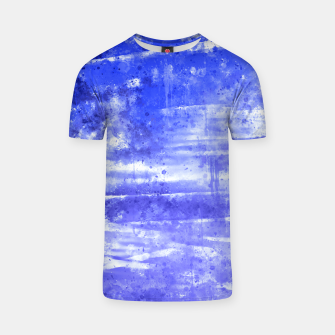 psychedelic sky clouds pattern wsdbb T-shirt miniature
