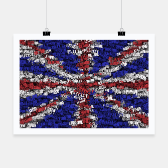 Miniatur God Save the Queen! Poster, Live Heroes