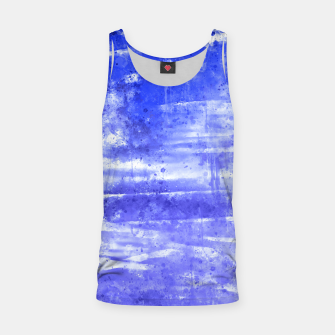 psychedelic sky clouds pattern wsdbb Tank Top miniature