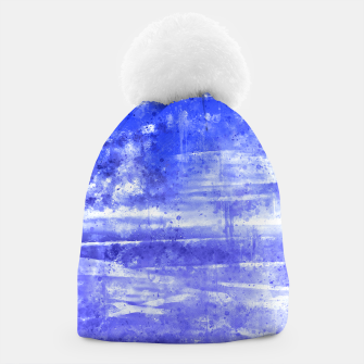 psychedelic sky clouds pattern wsdbb Beanie miniature
