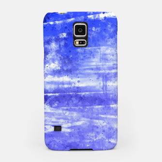 psychedelic sky clouds pattern wsdbb Samsung Case miniature