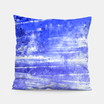 psychedelic sky clouds pattern wsdbb Pillow miniature