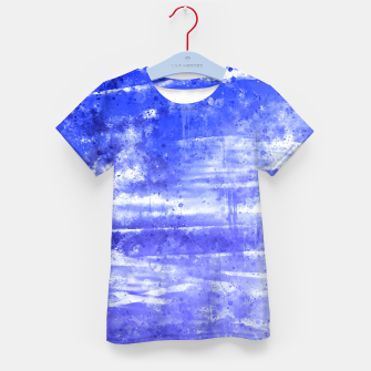 Thumbnail image of psychedelic sky clouds pattern wsdbb Kid's t-shirt, Live Heroes