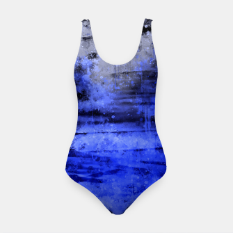 psychedelic sky clouds pattern wsdbbi Swimsuit miniature