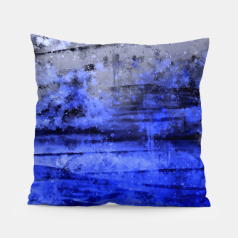 psychedelic sky clouds pattern wsdbbi Pillow miniature