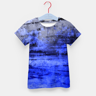 Thumbnail image of psychedelic sky clouds pattern wsdbbi Kid's t-shirt, Live Heroes