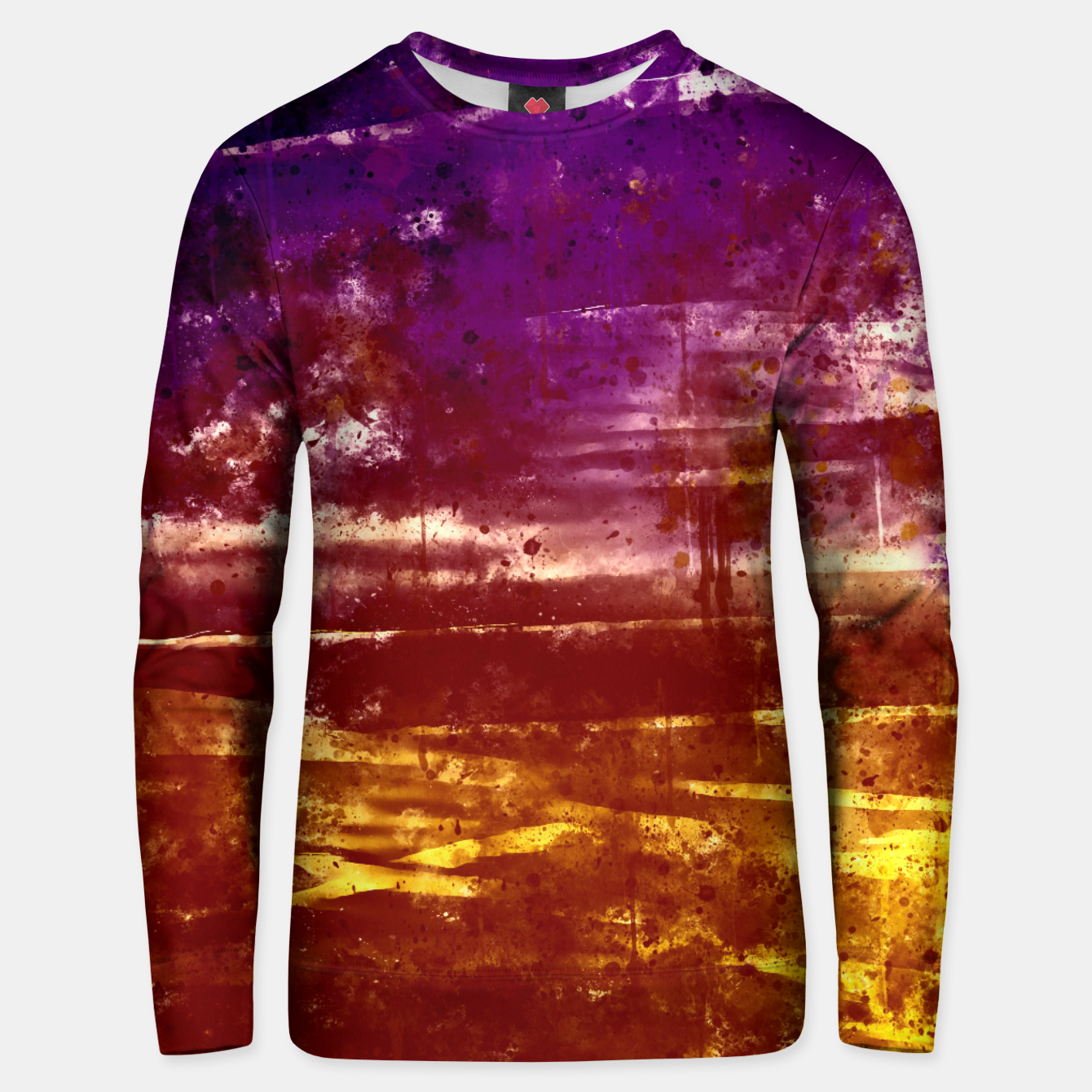 Image de psychedelic sky clouds pattern wsfn Unisex sweater - Live Heroes