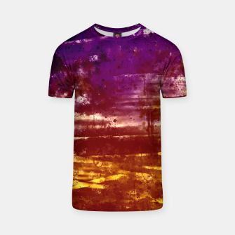 psychedelic sky clouds pattern wsfn T-shirt miniature