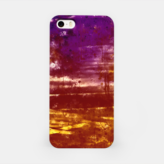 psychedelic sky clouds pattern wsfn iPhone Case miniature