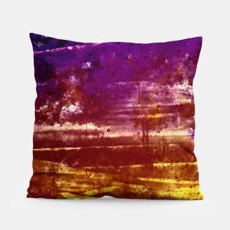 psychedelic sky clouds pattern wsfn Pillow miniature