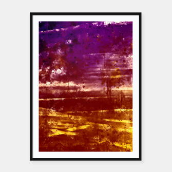 psychedelic sky clouds pattern wsfn Framed poster miniature