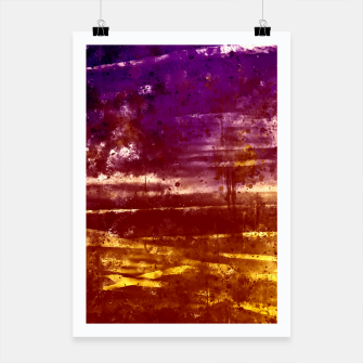 psychedelic sky clouds pattern wsfn Poster miniature
