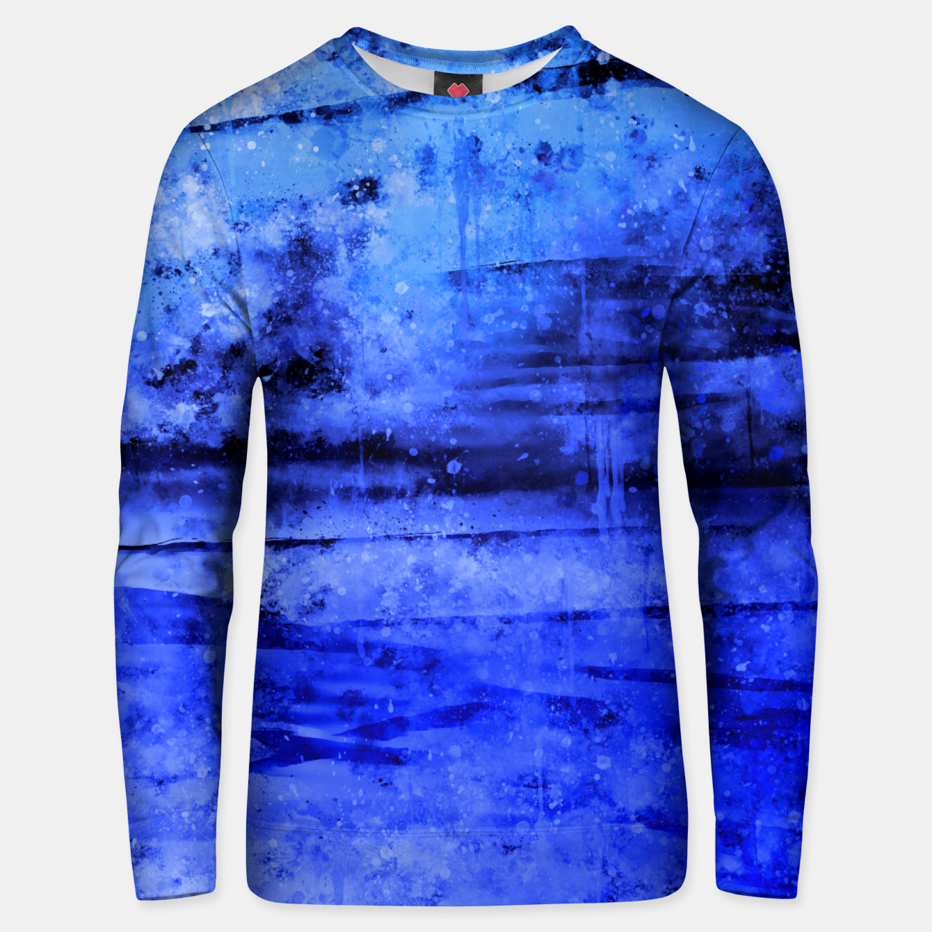 Image de psychedelic sky clouds pattern wsdbi Unisex sweater - Live Heroes