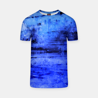 psychedelic sky clouds pattern wsdbi T-shirt miniature