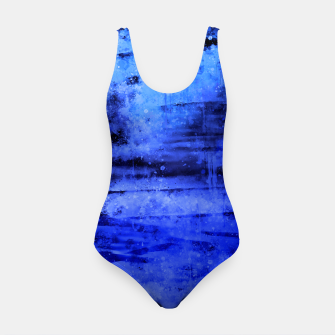 psychedelic sky clouds pattern wsdbi Swimsuit miniature