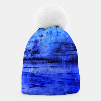 psychedelic sky clouds pattern wsdbi Beanie miniature