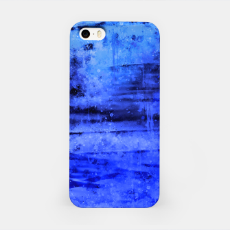 psychedelic sky clouds pattern wsdbi iPhone Case miniature