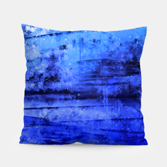 psychedelic sky clouds pattern wsdbi Pillow miniature