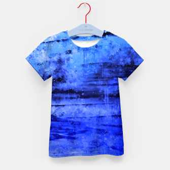 Thumbnail image of psychedelic sky clouds pattern wsdbi Kid's t-shirt, Live Heroes