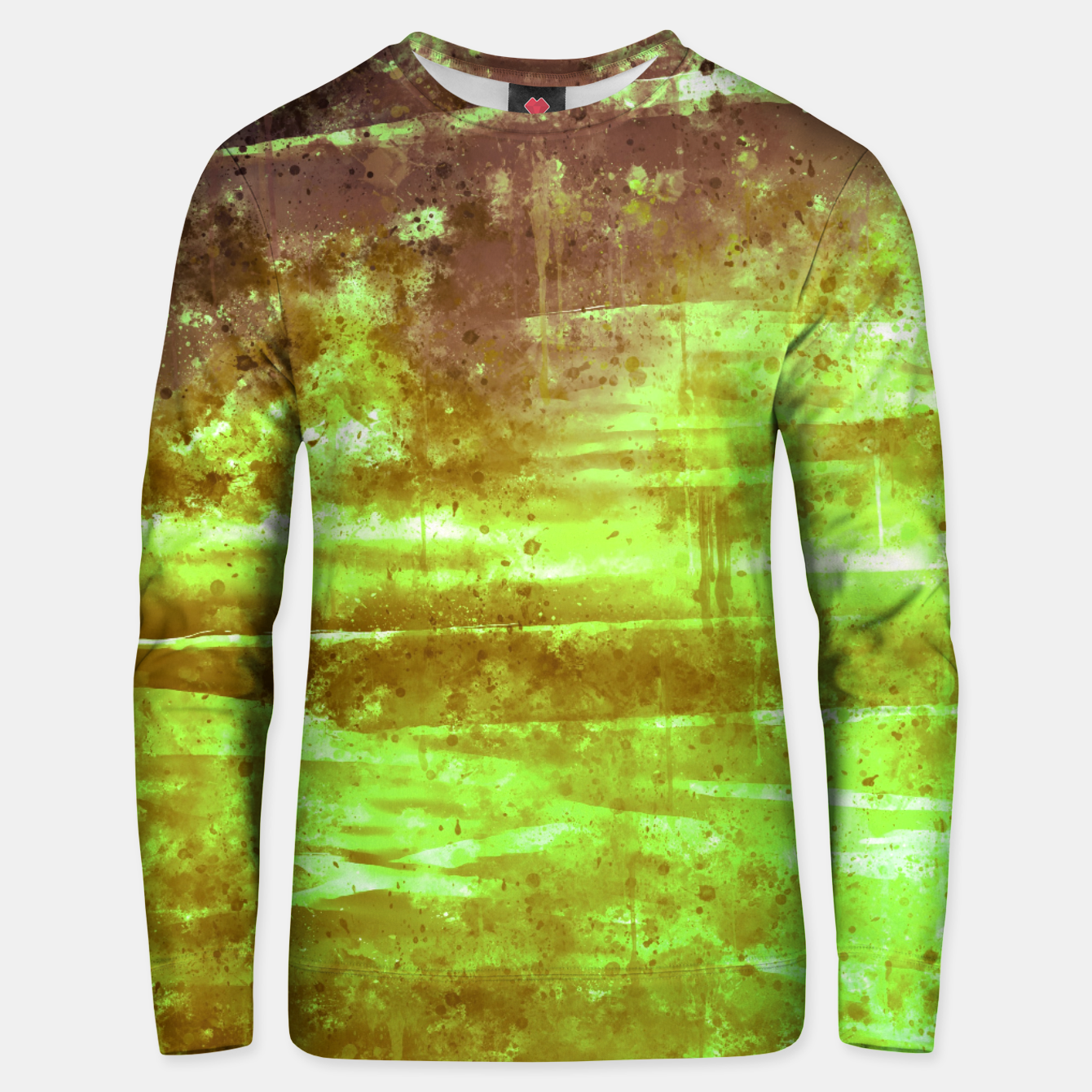Image de psychedelic sky clouds pattern wsg Unisex sweater - Live Heroes