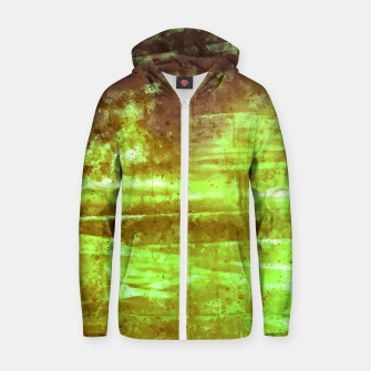 psychedelic sky clouds pattern wsg Zip up hoodie miniature