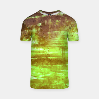 psychedelic sky clouds pattern wsg T-shirt miniature