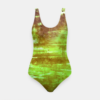 psychedelic sky clouds pattern wsg Swimsuit miniature