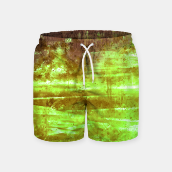 psychedelic sky clouds pattern wsg Swim Shorts miniature