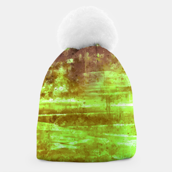 psychedelic sky clouds pattern wsg Beanie miniature