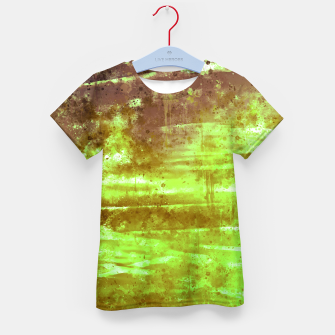 psychedelic sky clouds pattern wsg Kid's t-shirt miniature