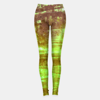 psychedelic sky clouds pattern wsg Leggings miniature