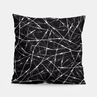 Thumbnail image of Barbed wire Pillow, Live Heroes