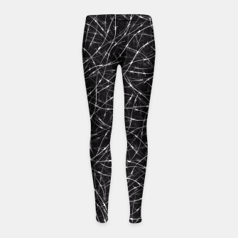Thumbnail image of Barbed wire Girl's leggings, Live Heroes