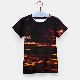 Thumbnail image of psychedelic sky clouds pattern wslsfn Kid's t-shirt, Live Heroes