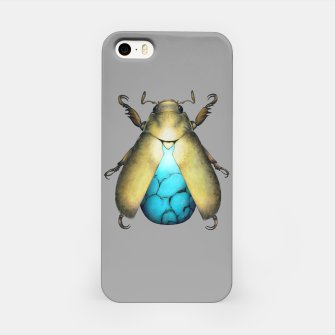 Turquoise Beetle iPhone Case miniature