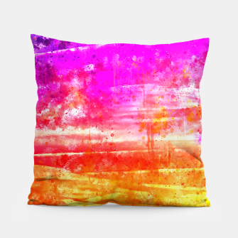 psychedelic sky clouds pattern wsstd Pillow miniature