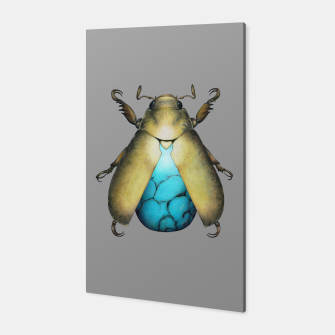 Thumbnail image of Turquoise Beetle Canvas, Live Heroes