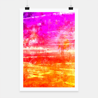 psychedelic sky clouds pattern wsstd Poster miniature