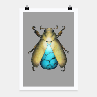 Turquoise Beetle Poster miniature