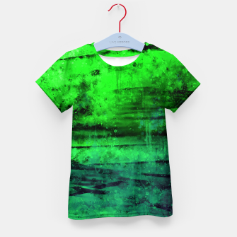 Thumbnail image of psychedelic sky clouds pattern wsgi Kid's t-shirt, Live Heroes