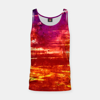 psychedelic sky clouds pattern wsls Tank Top miniature