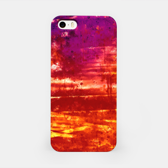 psychedelic sky clouds pattern wsls iPhone Case miniature