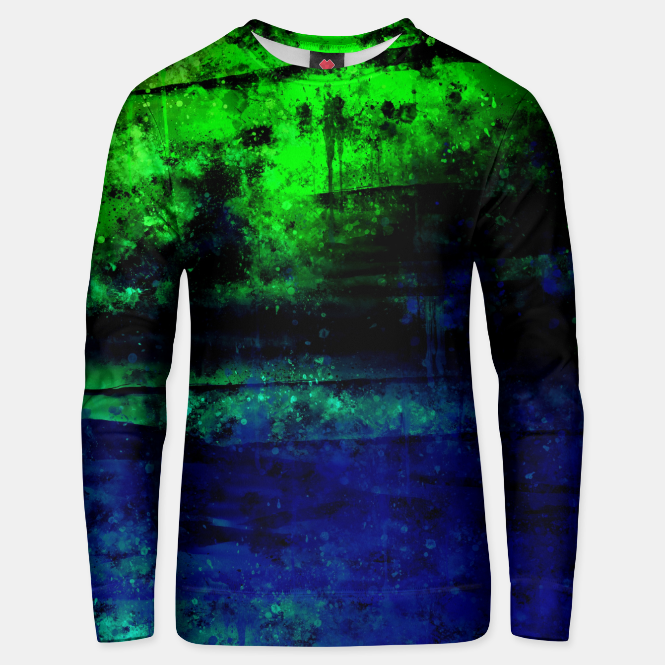 Image de psychedelic sky clouds pattern wslsi Unisex sweater - Live Heroes