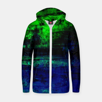 psychedelic sky clouds pattern wslsi Zip up hoodie miniature