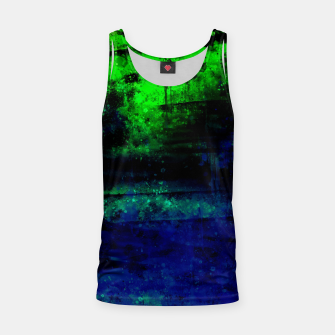psychedelic sky clouds pattern wslsi Tank Top miniature