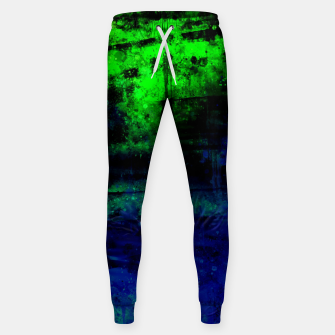 psychedelic sky clouds pattern wslsi Sweatpants miniature